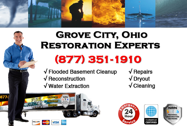 Grove City Flooded Basement Cleanup Company