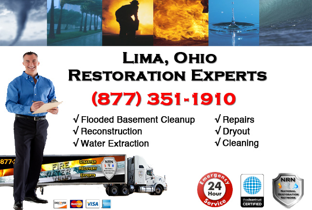 Lima Flooded Basement Cleanup Company