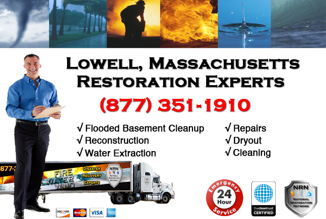 Lowell Flooded Basement Cleanup