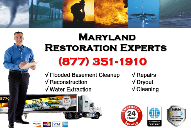 Maryland Flooded Basement Cleanup