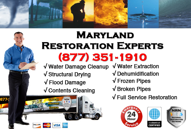 Maryland Water Damage Cleanup
