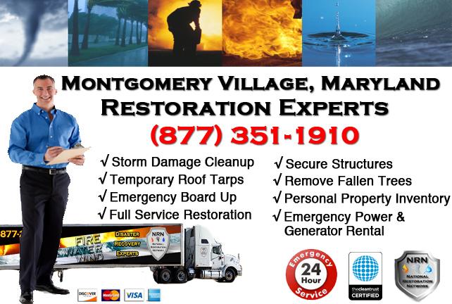 Montgomery Village Storm Damage Cleanup