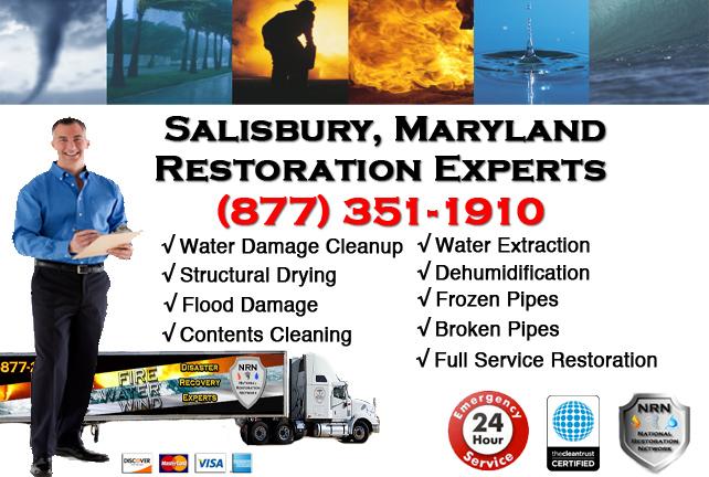 Salisbury Water Damage Cleanup