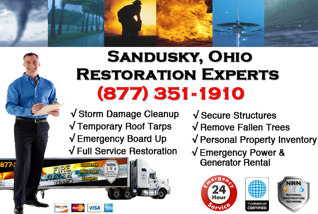 Sandusky Storm Damage Cleanup
