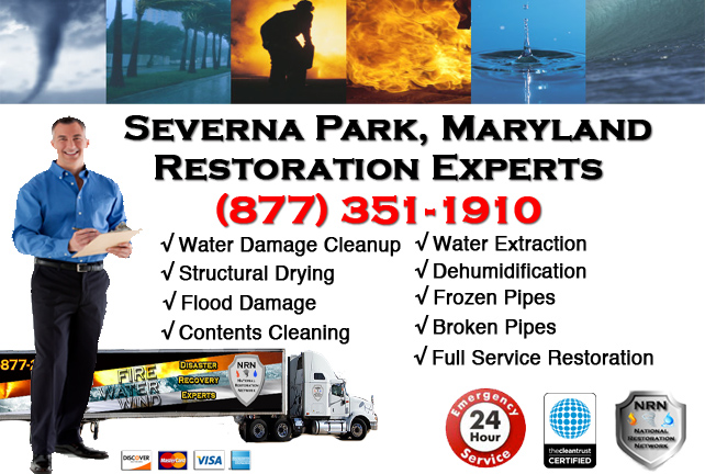 Severna Park Water Damage Cleanup