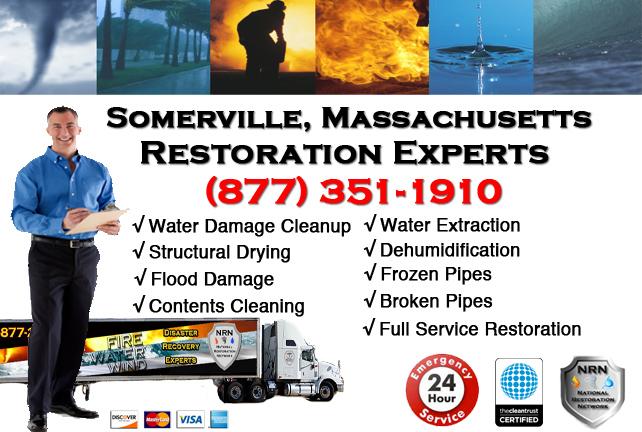 Somerville Water Damage Restoration