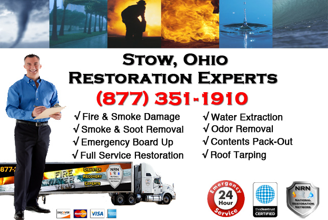 Stow Fire Damage Cleanup Company
