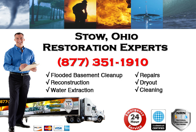 Stow Flooded Basement Cleanup Company