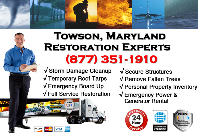 Towson Storm Damage Cleanup