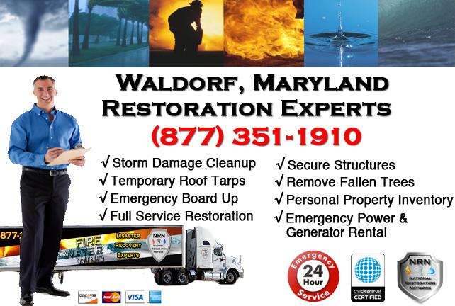Waldorf Storm Damage Cleanup