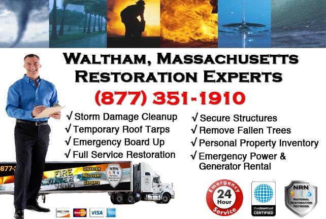 Waltham Storm Damage Restoration