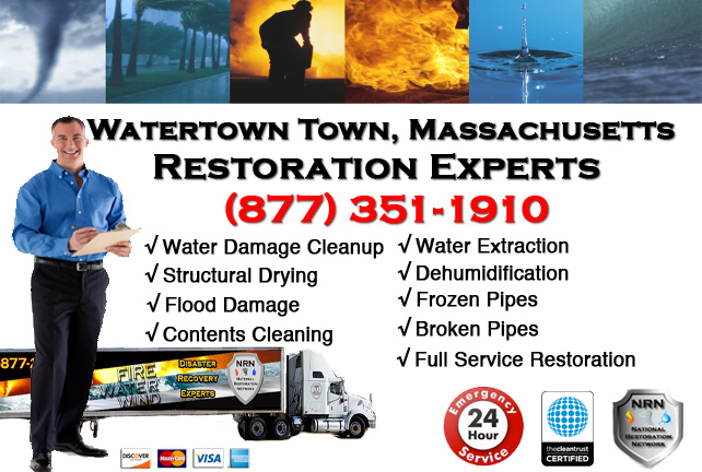 Watertown Water Damage Restoration