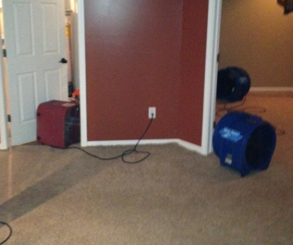 driers in wet basement
