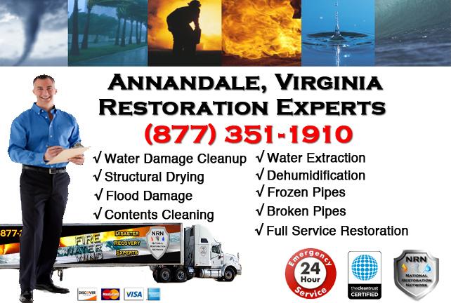 Annandale Water Damage Restoration