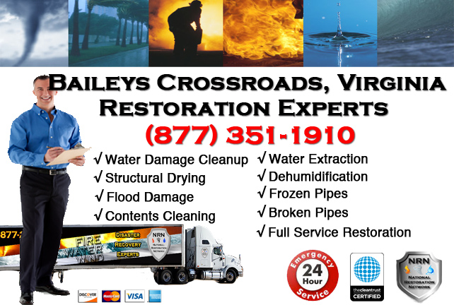 Baileys Crossroads Water Damage Restoration