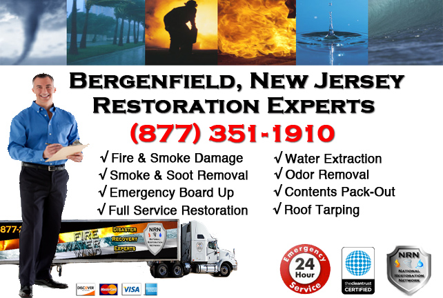 Bergenfield Fire Damage Restoration Contractor