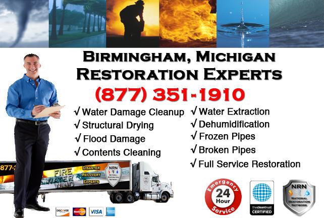 Birmingham Water Damage Repairs