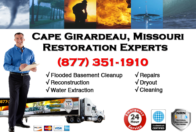 Cape Girardeau Flooded Basement Cleanup Company