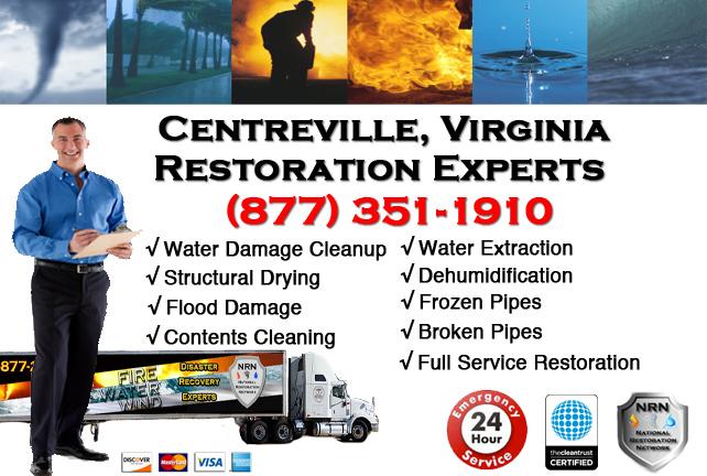 Centreville Water Damage Restoration