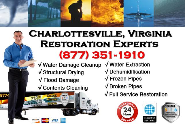 Charlottesville Water Damage Restoration