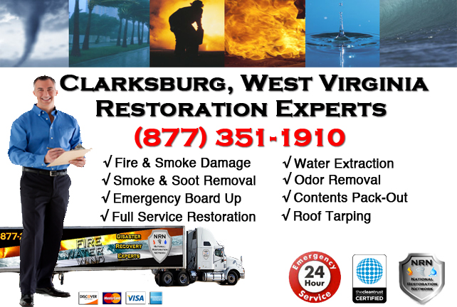 Clarksburg Fire and Smoke Damage Restoration