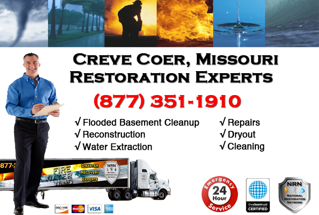 Creve Coeur Flooded Basement Cleanup Company