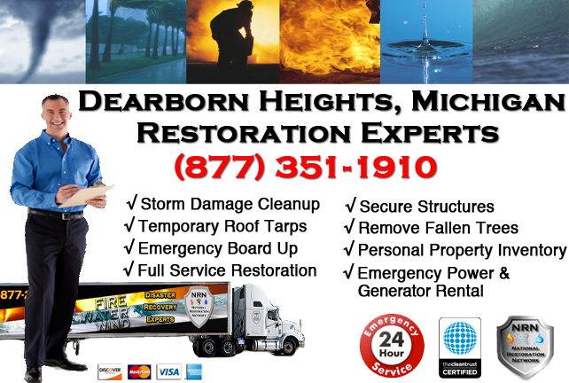 Dearborn Heights Storm Damage Repairs
