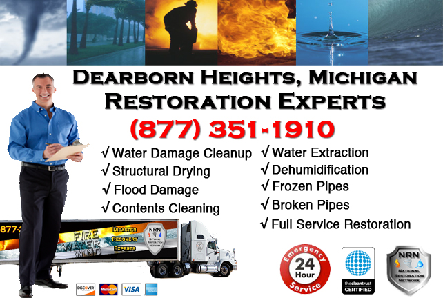 Dearborn Heights Water Damage Repairs