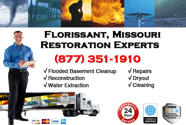 Florissant Flooded Basement Cleanup Company