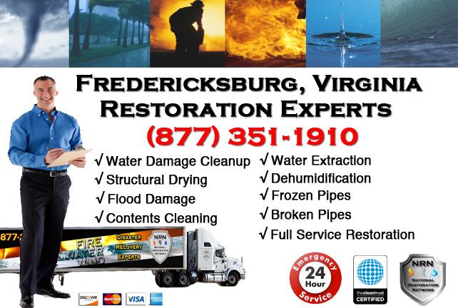 Fredericksburg Water Damage Restoration