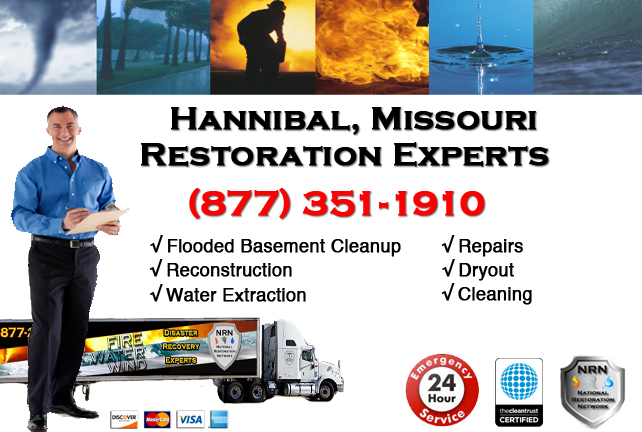 Hannibal Flooded Basement Cleanup Company
