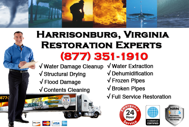 Harrisonburg Water Damage Restoration
