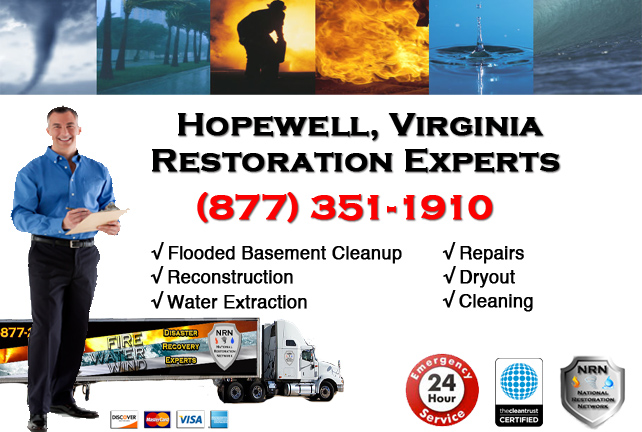 Hopewell Flooded Basement Cleanup