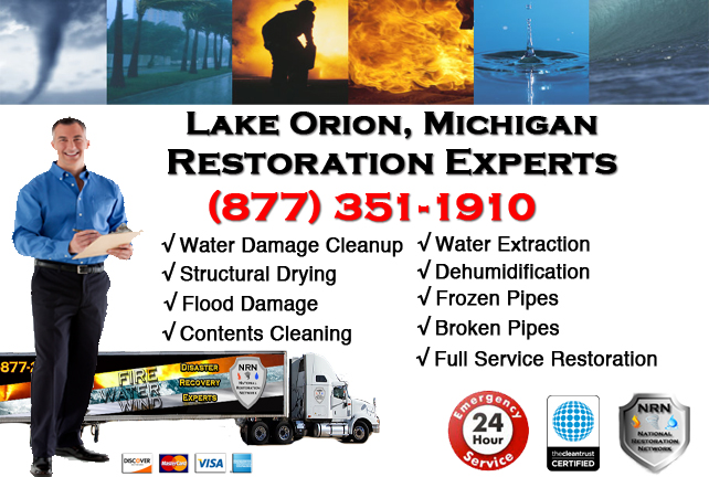 Lake Orion Water Damage Repairs