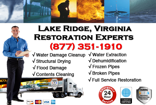 Lake Ridge Water Damage Restoration