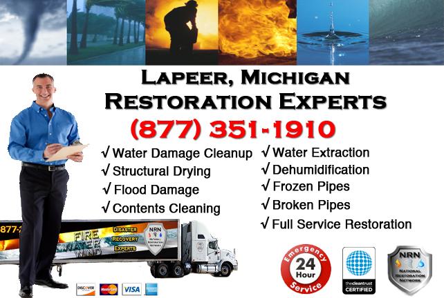 Lapeer Water Damage Repairs