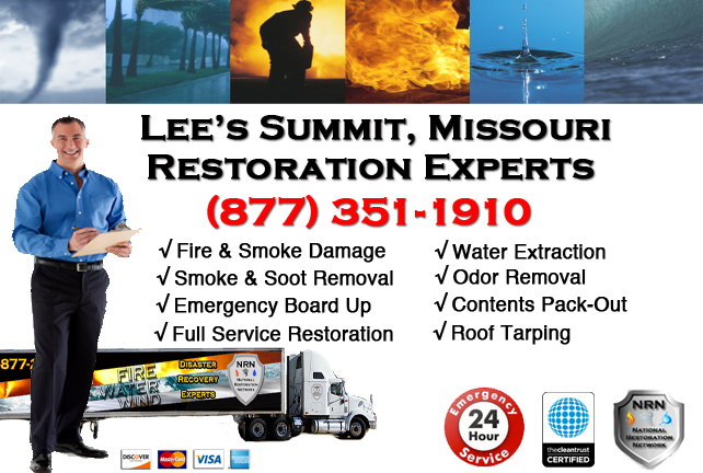 Lees Summit Fire and Smoke Damage Restoration