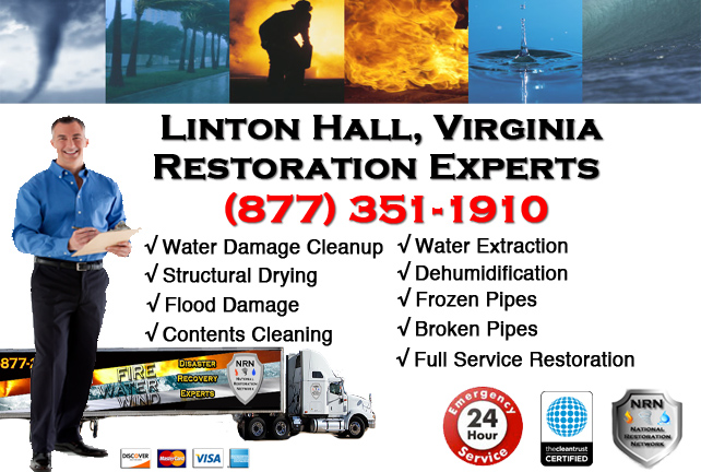 Linton Hall Water Damage Restoration