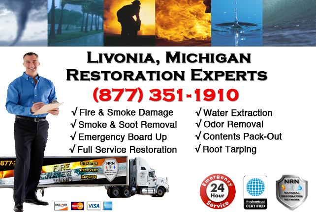 Livonia Fire Damage Contractor