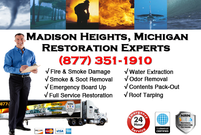 Madison Heights Fire Damage Contractor
