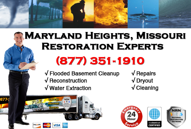 Maryland Heights Flooded Basement Cleanup Company