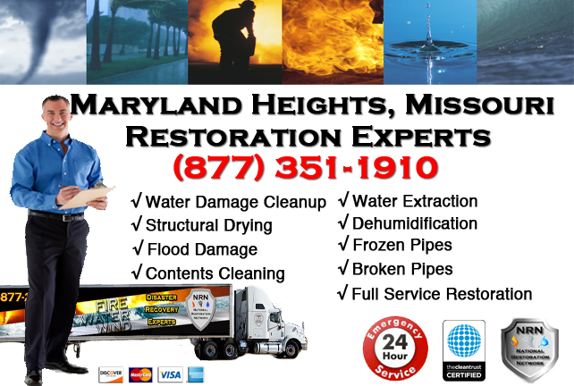 Maryland Heights Water Damage Repair Company