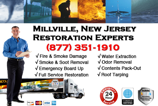 Millville Fire Damage Restoration Contractor