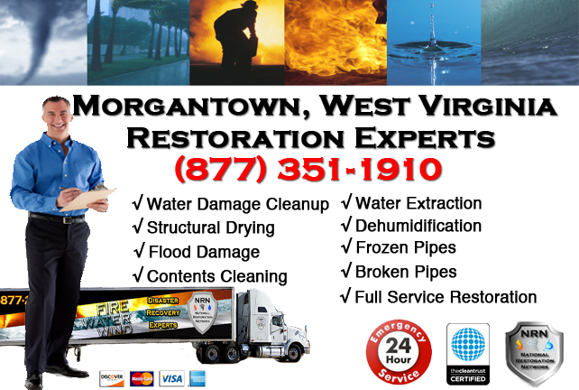 Morgantown Water Damage Repair Company