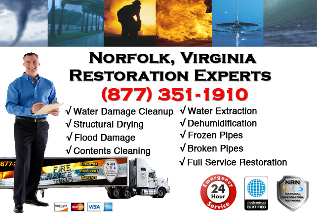 Norfolk Water Damage Restoration