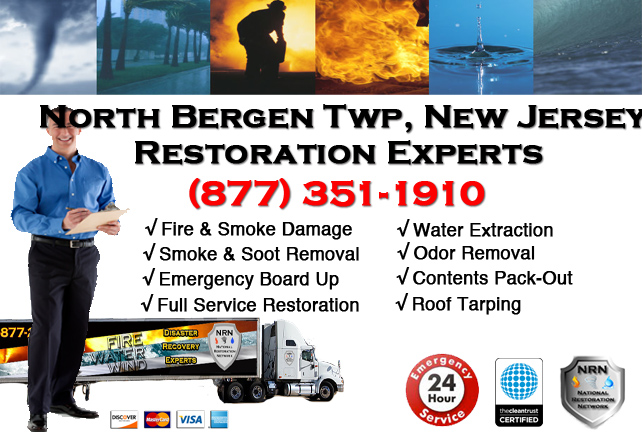 North Bergen Fire Damage Restoration Contractor