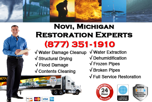 Novi Water Damage Repairs