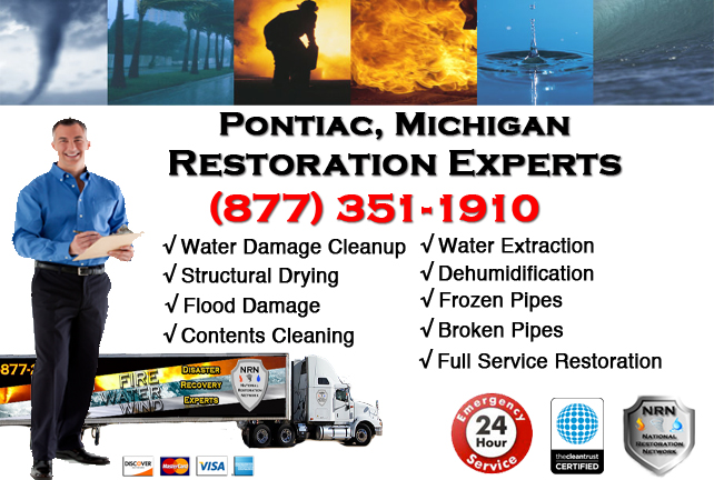 Pontiac Water Damage Repairs