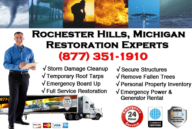 Rochester Hills Storm Damage Repairs