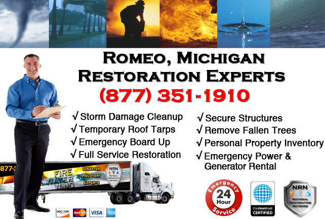 Romeo Storm Damage Repairs